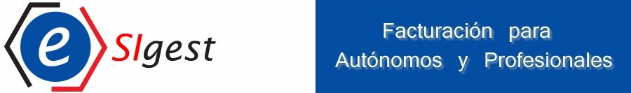 eSIGEST Facturación para Autónoms y profesionales